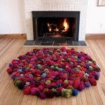 Pompom Rugs to DIY