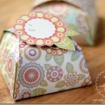 retro floral gift box templates