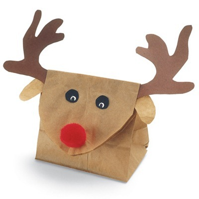 Rudolf – Gift Boxes for Kids: Tutorial