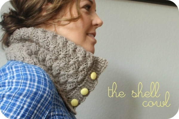 Free Crochet Patterns: Shell Cowl