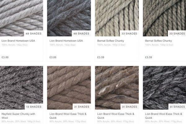 super bulky yarn grey loveknitting -- Luxurious Easy Infinity Scarf Pattern