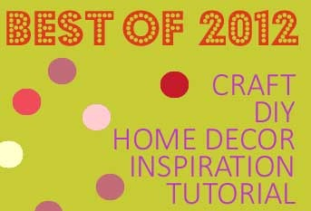 'Best of 2012' Linky Party :: NOW OPEN