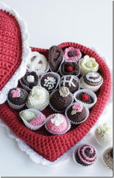 box chocolates free crochet patterns