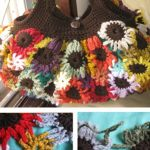 These Crochet Flower Bags are Must-haves :: Free Patterns for 3 sizes
