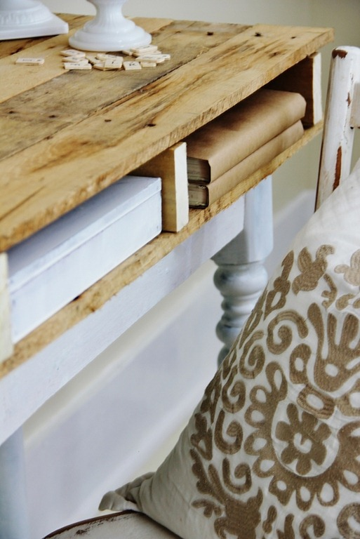 Pallets Desk DIY
