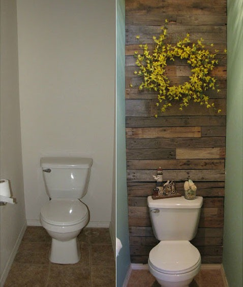 Recycled Pallets = DIY Wooden  Wall