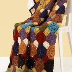 Octagon Jewel Afghan Crochet Pattern