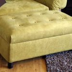 DIY Upholstered Ottomans w Storage