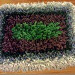 square bath mat rug