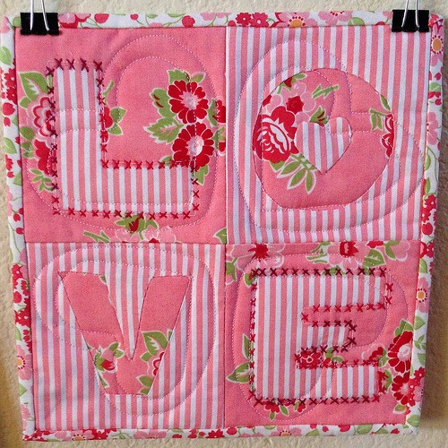 Love Quilt :: Latest of our FREE Quilt Patterns