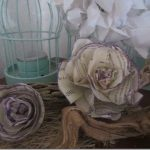 Pretty DIY Newspaper Roses :: FineCraftGuild.com