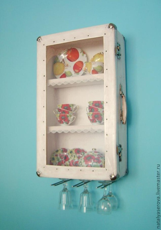 Cool Kitchen Design :: Suitcase Cabinets