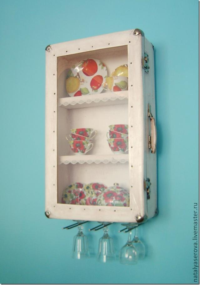 suitcase cabinets DIY kitchen design