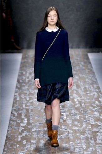 Sweater dress from the Blugirl collection for Fall-Winter 2013-2014