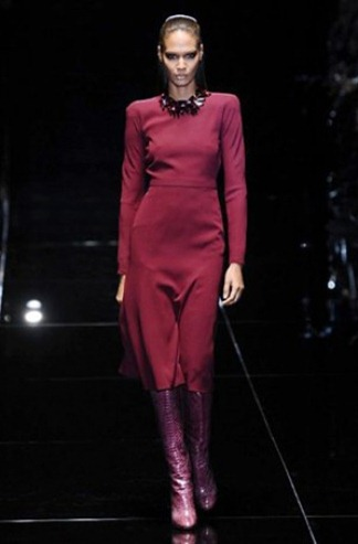 Sweater dress from the Gucci fashion collection for Fall-Winter 2013-2014