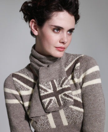Knitting Pattern For Union Jack : Union Jack Sweater Dress Knitting Pattern :: Stunning!