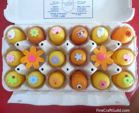 DIY Easter Eggs for Scavenger Hunt