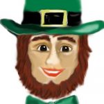 coloring pages leprechaun template