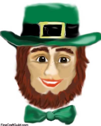 coloring_pages_leprechaun