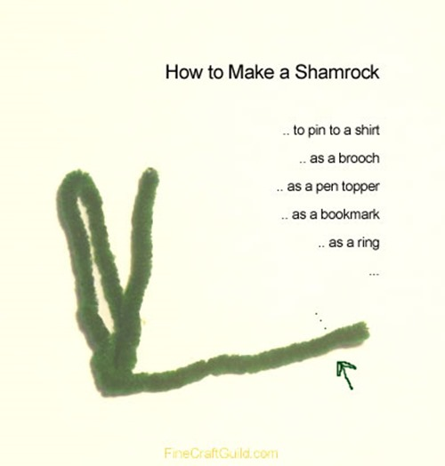 howto make shamrock