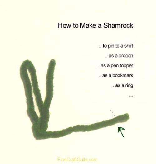 howto make shamrock