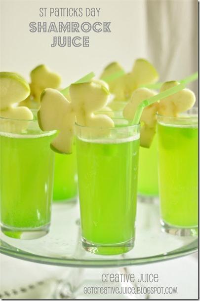 shamrock juice