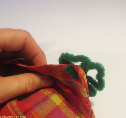 shamrock brooch