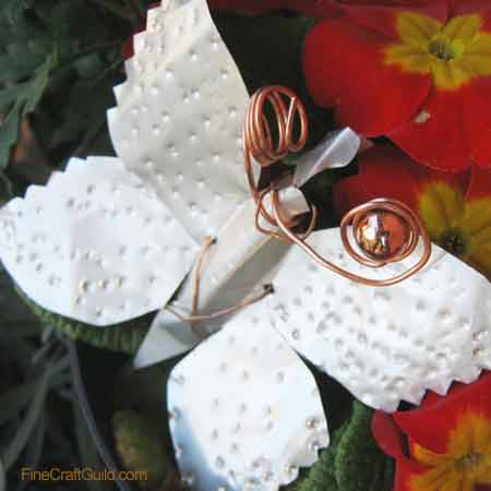 Recycled Can Crafts – Make a Garden Butterfly