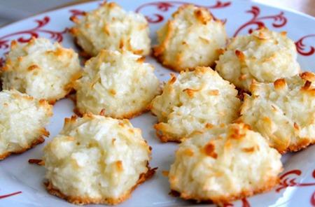 healthy recipes: coconut cookies recipe