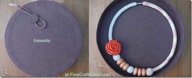 free crochet patterns necklaces