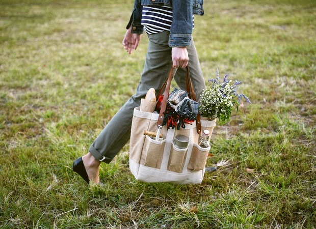 Apolis Garden Tote Bags :: Free Sewing Pattern