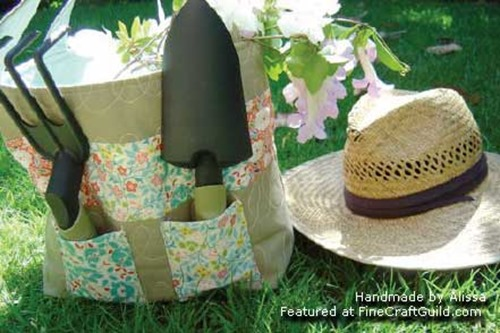garden bag free sewing pattern