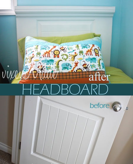 Kids Bedroom Furniture: DIY Headboard