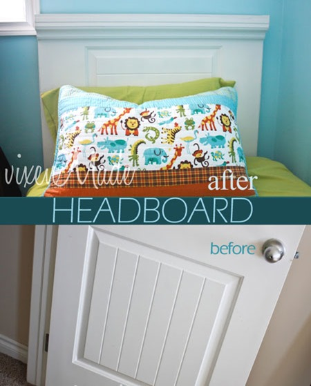 diy childrens bedroom furniture. Recycled Furniture. Recycled_furniture_bed_head Diy Childrens Bedroom Furniture