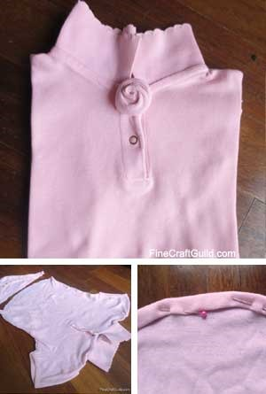 recycled onesie toddler tshirt