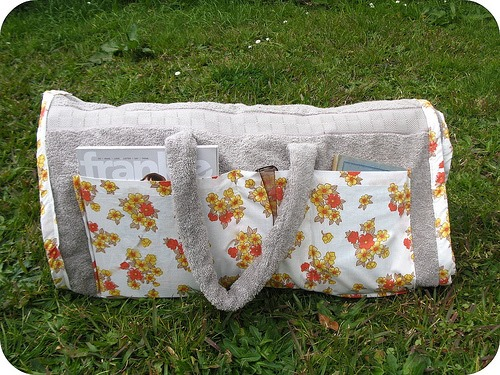 What to do with an Old Towel + a Pillowcase