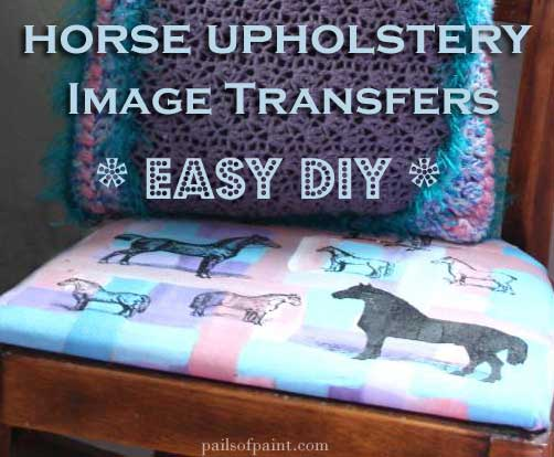 DIY Horse Image Transfers