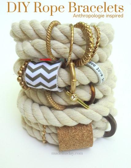 anthropologie bracelets diy