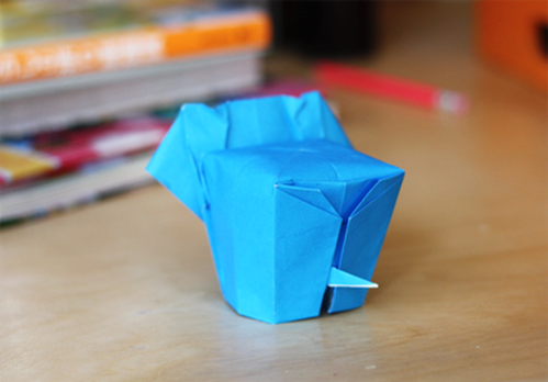 origami animals, origami elephant
