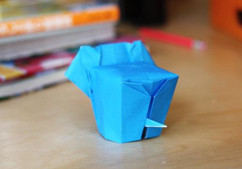 Elephant Origami Folding Instructions | Fold an Origami Elephant ... | 348x499