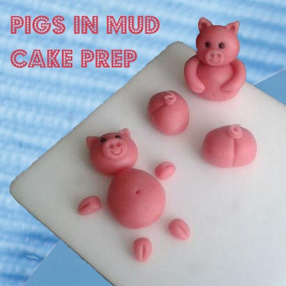 pigs-in-mud-chocolate-kitkat-cake