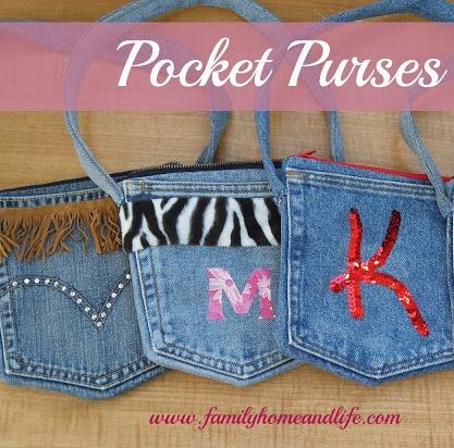 recycled demin purses  :: FineCraftGuild.com