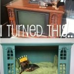 Pet Bed from Old TV :: Recycled Furniture