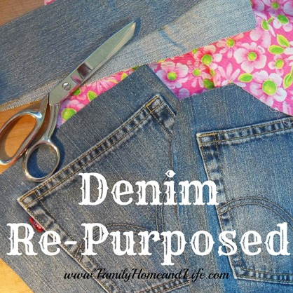 recycled re-purposed denim  :: FineCraftGuild.com