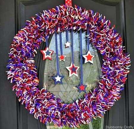 DIY 4th of July Wreaths Tutorials