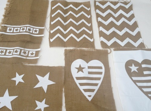 cut and apply stencils