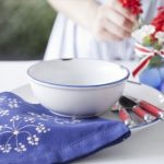 Fourth of July Party Decorations – Hand-painted Napkins