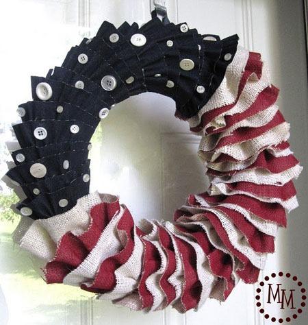 diy fourth of july wreaths tutorial