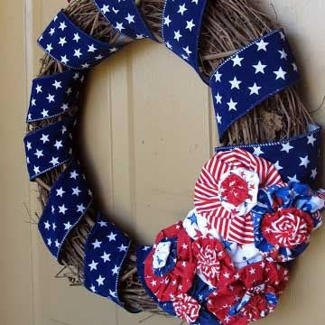 diy fourth of july wreaths
