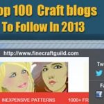 Voted 15 in TOP 100 Craft Blogs for 2013